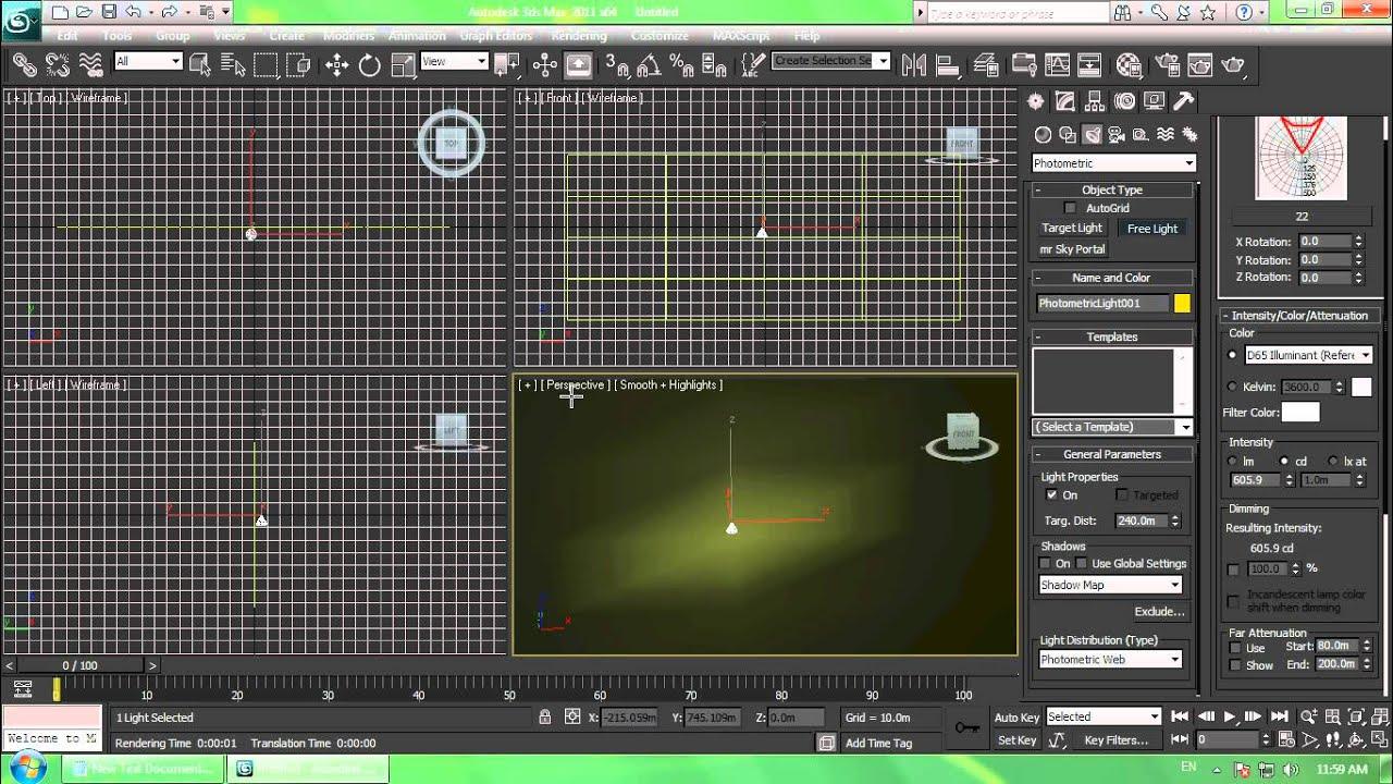3ds max ies lights tutorial youtube - 3ds max vray exterior lighting tutorials pdf ...