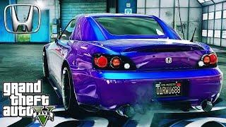 Honda S2000 AP2 tuning - GTA V MSI GeForce GTX 1080 Ti GAMING X !!!