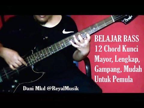 Belajar Bass Pemula MUDAH & LENGKAP | 12 Kunci Mayor