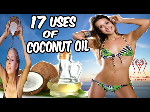 Uses Of Coconut Oil – 17 Uses Of Coconut Oil For Face Hair And Skin Beauty – Benefits Of Coconut Oil