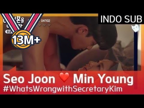 Park Seo Joon ❤️ Park Min Young#WhatsWrongwithSecretaryKim 🇮🇩INDO SUB🇮🇩