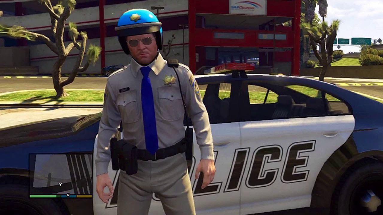 how to get a police uniform in gta 5 offline