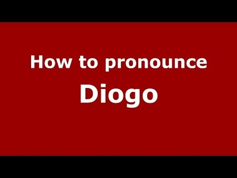 How to pronounce Diogo (Brazilian Portuguese/Brazil) - PronounceNames.com