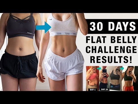 Flat Belly Abs Challenge Before/After Results + Tips | Did It Work For Others