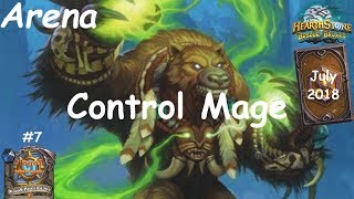 Hearthstone: Control Mage - JULY 2018 - Witchwood (Bosque das Bruxas) - Arena #7