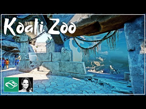 Giant Otter & underwater viewing | Koali Zoo | Planet Zoo Collab | Ep. 40 |
