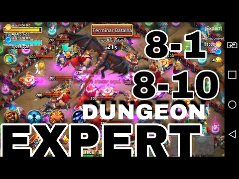 CASTLE CLASH: EXPERT DUNGEON 8 COMPLETE