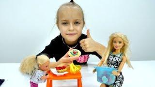 Барби готовит обед - Приключения Барби - Мультики для девочек