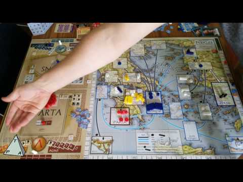 Review: Pericles The Peloponnesian Wars by GMT Games - The Players' Aid