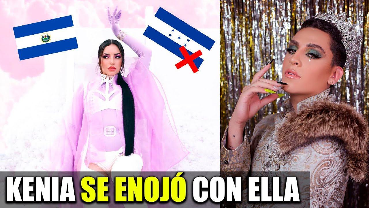 Kim Loaiza confunde Honduras con El Salvador   Kunno ya está con Kenia Os!