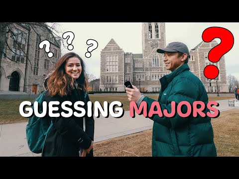 Guessing Student Majors at Boston College
