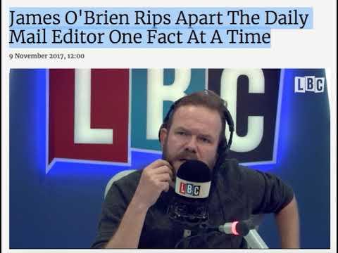 James O'Brien Rips Apart Paul Dacre