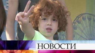 ВТбилиси наФестивале рыжих наградили обладателя самого большого количества веснушек.