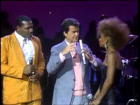 Dick Clark Interviews Alexander O'Neal & Cherrelle on American Bandstand 1986
