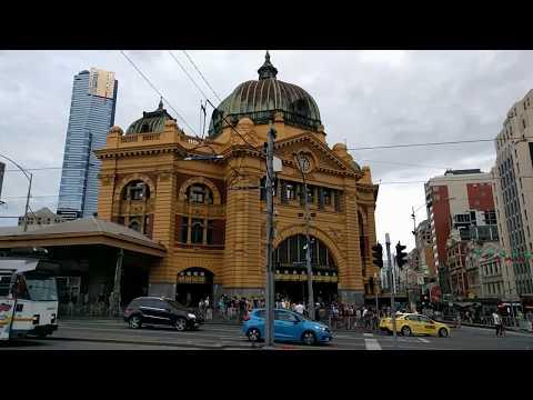 Flinders Street Railway Station - Melbourne