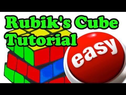 𝗙𝗼𝗿 𝗕𝗲𝗴𝗶𝗻𝗻𝗲𝗿𝘀 🔴 Rubik's Cube Solution Tutorial