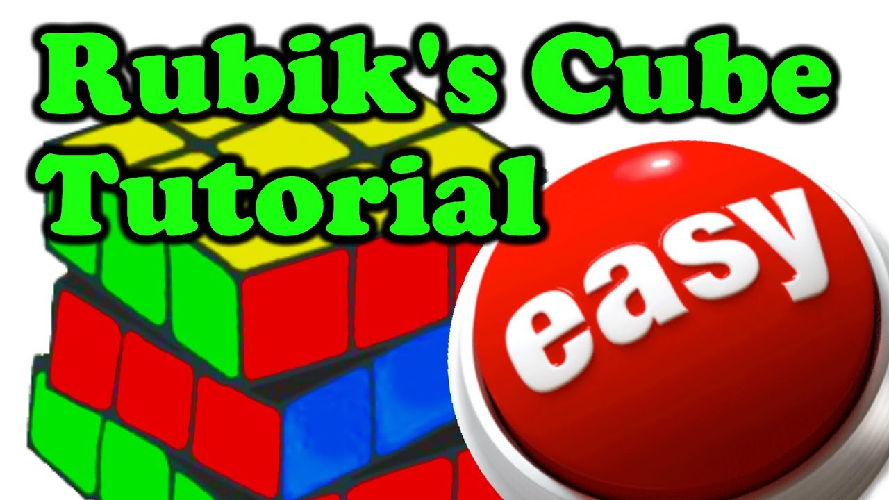 How to solve the Rubik's Cube - Beginners Method