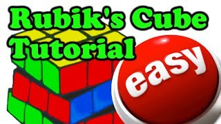 The Easiest Rubik's Cube Solution Tutorial - For Beginners