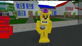 un jogo muito legal de fnaf no roblox / chamdo : Fredbear and Friends 5