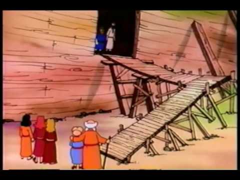 Noah's Ark Bible Story For Kids - ( Children Christian Bible Cartoon Movie )