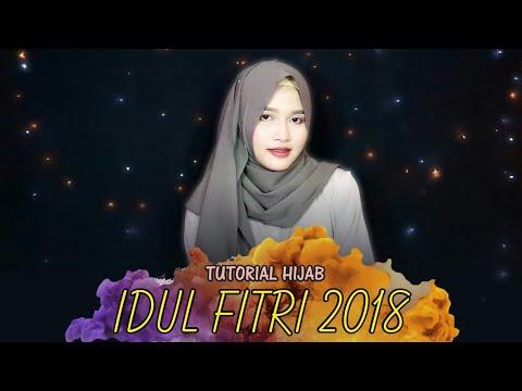 Tutorial Hijab Spesial Hari Raya Idul Fitri 2018 Pashmina Diamond Amalia Kurnia Youtube