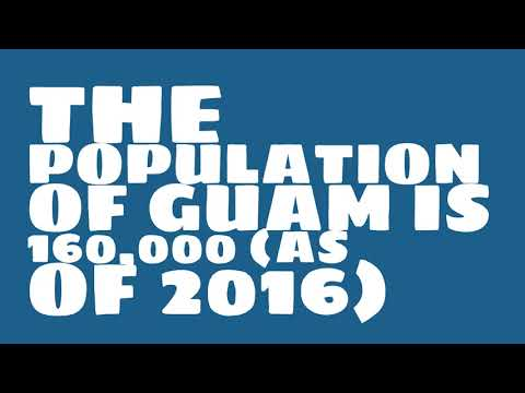 What is the population of Guam?