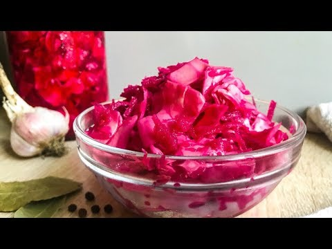 The most Delicious CABBAGE with BEETS! All guests will Ask for a Recipe!!