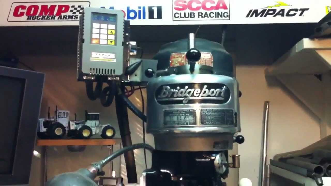 How to wire a Bridgeport to single phase power for home
