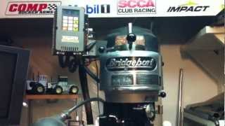 How to wire a Bridgeport to single phase power for home use.