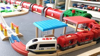 Tunnel Train Brio Kids Road Tayo Bus Long Road Level Crossing Toy Vehicles for Kids 40k Subscribers