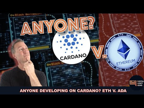 IS ANYONE EVEN BUILDING ON CARDANO? CARDANO V. ETHEREUM.