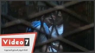 بالفيديو.. شاهد رد فعل أحد المتهمين بقضية مجزرة استاد بورسعيد عقب النطق بالحكم