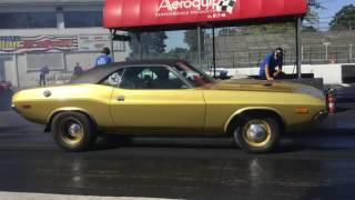 '72 Challenger vs  '65 GTO Second round eliminations