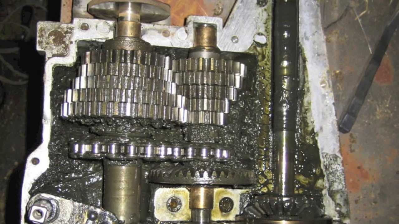 honda harmony 1011 spicer transaxle repair [ 1280 x 720 Pixel ]