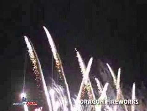 Dragon Fireworks Mall of Asia Explosive Pyromusical