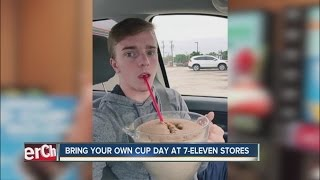 Bring-Your-Own-Cup Slurpee Day at 7-Eleven