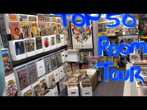 Top 50+ Comic Books & Room Tour & My Last Video (for awhile)