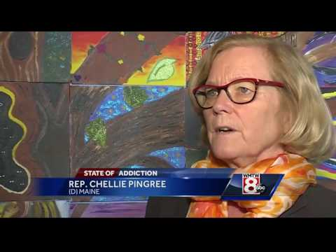 Congresswoman Chellie Pingree tours the Portland Recovery Community Center