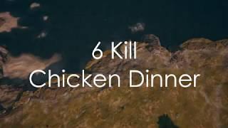 Xbox PUBG Highlight   6 Kill Chicken Dinner
