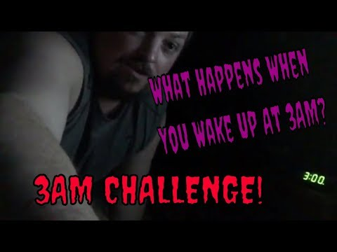 What Happens WHEN YOU WAKE UP AT 3AM 💀💀💀💀 ||| 3:00 AM CHALLENGE 💀🙊💀
