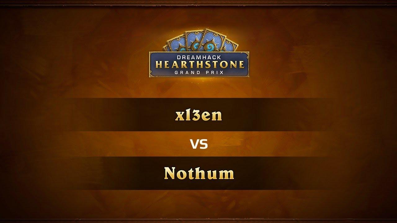 Xi3en vs Nothum, 1/2, DreamHack Valencia 2017