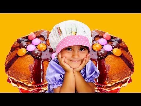Bebek videoları. Mini Mutfak şarkısı! Eğlenceli oyunlar kız çoсuklar için
