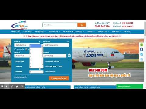 Thiết kế Website bán vé máy bay giá rẻ - WC-AIRBOOK-001