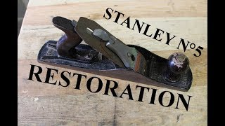 Restoring a Stanley Bailey N° 5 plane
