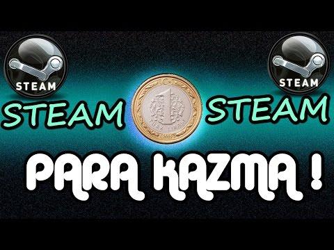 Steam Bedava Para Kazanma