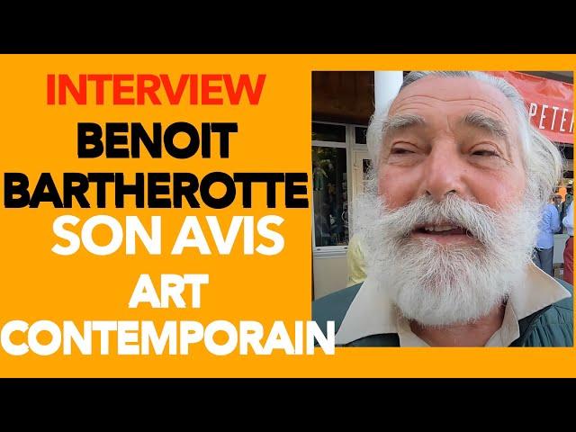 Benoit Bartherotte nous parle de l'état de l'art contemporain- Rentrée littéraire Alice Cap Ferret