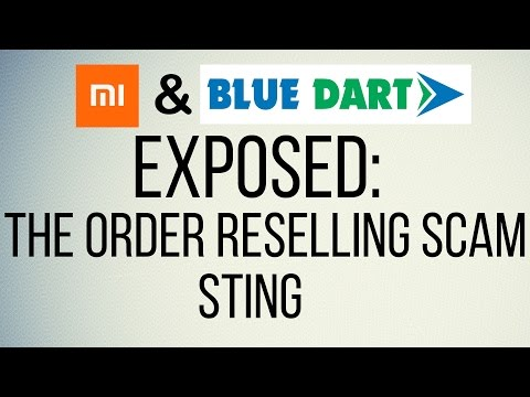 SHOCKING!! Xiaomi Order Re-selling SCAM | Blue Dart Courier Service Exposed | TechaasaanTV [Hindi]