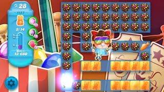 Candy Crush Soda Saga Level 1157 ★★★ Coloring Candy Fun The Highest Score