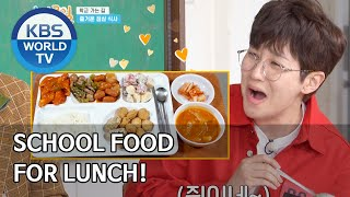 School food for lunch! 2 Days &amp 1 Night Season 4ENG2020.04.26