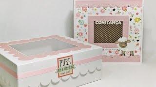Album da Constança - Scrapbooking Baby Girl Album